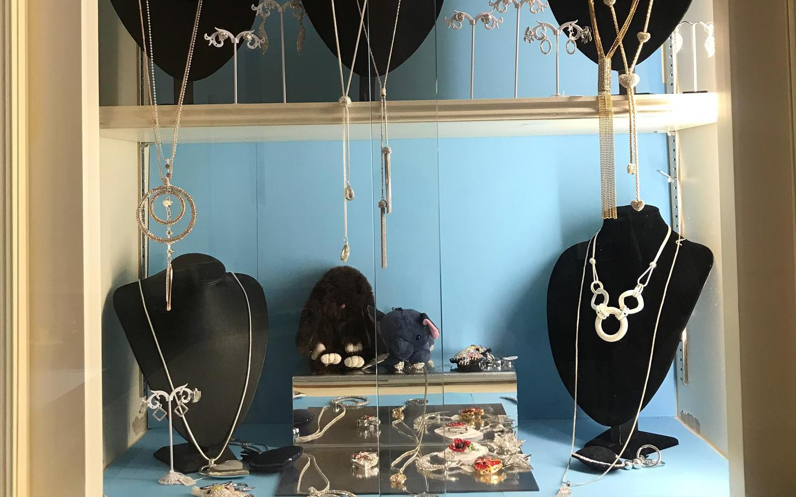 Jewellery at Harringtons Drycleaners