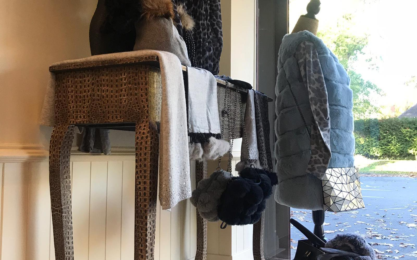 Clothes at Harringtons Drycleaners
